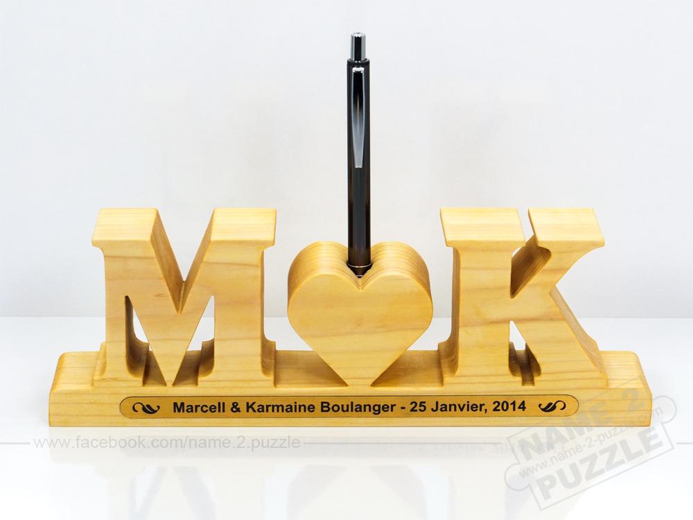 Unique Wooden handmade pen holders