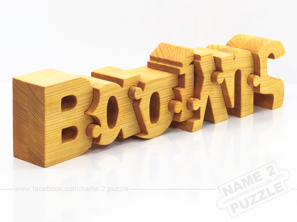 Signle name puzzle