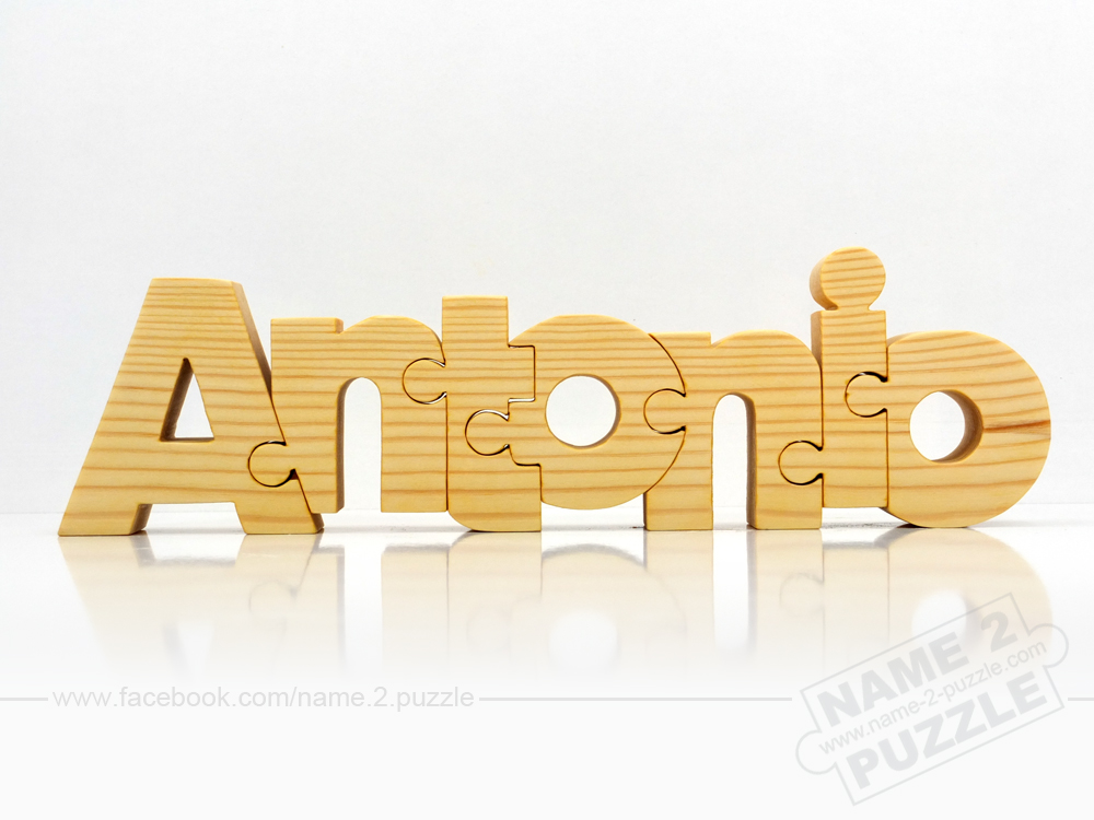 Name Puzzle - Antonio - unique name puzzles