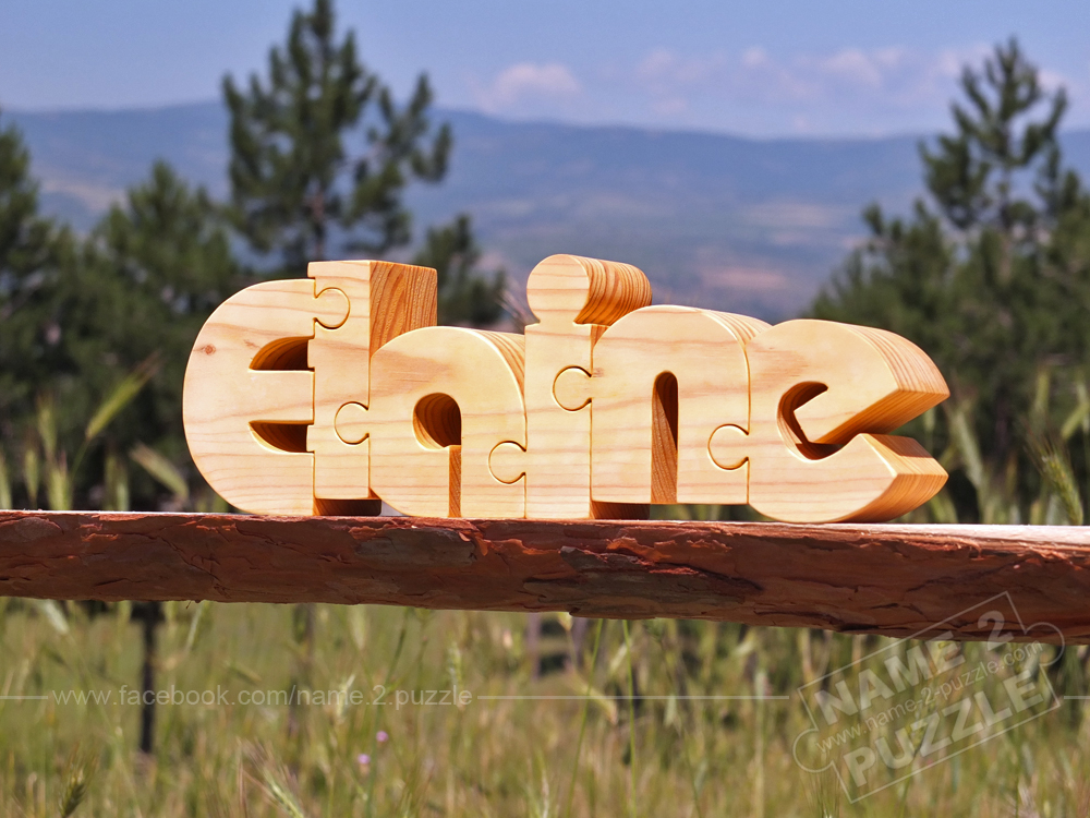 make gift with wooden puzzle - 3D puzzles
