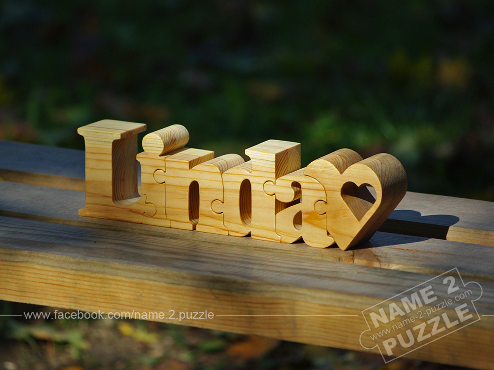 Single Name Puzzle Personalized wooden name puzzles
