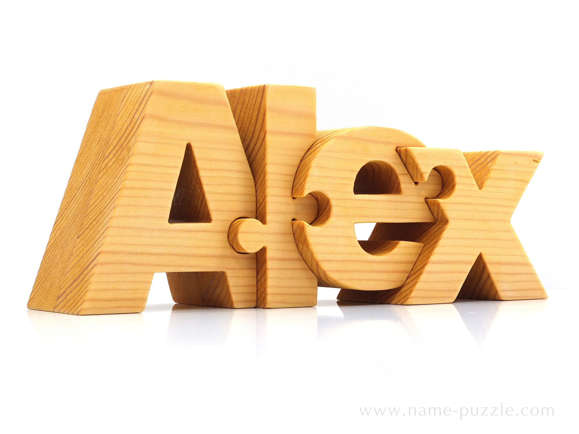 Wooden name puzzle - unique gift idea